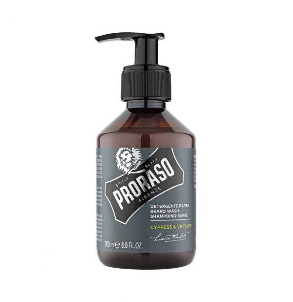 Proraso Beard Shampoo Cypress and Vetyver 200ml