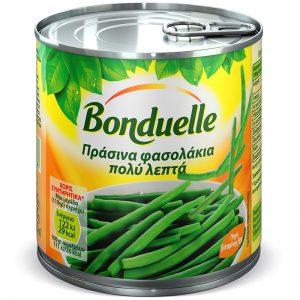 Φασολάκια Πράσινα Πολύ Λεπτά Bonduelle Haricots Verts Extra Fins 400g