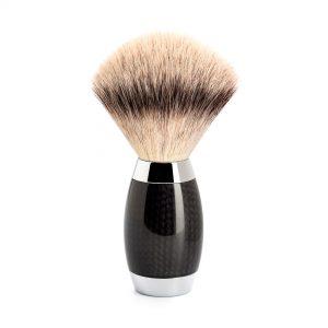 Πινέλο Ξυρίσματος Muhle Edition Με Συνθετική Ίνα Silvertip Fibre Badger Carbon Brush 38mmx125mm