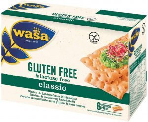 Φρυγανιές Χωρίς Γλουτένη Wasa Gluten Free Original Swedish Crispbread 240g