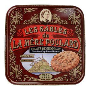 Μπισκότα Βουτύρου Με Κομμάτια Σοκολάτας La Mere Poulard Eclats De Chocolat 250g