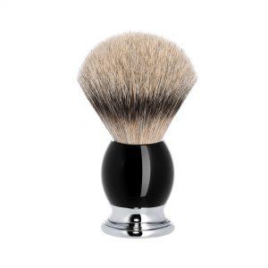 Πινέλο Ξυρίσματος Muhle Sophist Με Γνήσια Τρίχα Ασβού Silvertip Badger High Grade Resin Citrine Brush 42mmx105mm