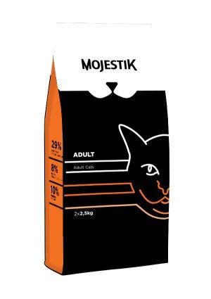 Γατοτροφή για Ενήλικες γάτες Mojestik Adult Cat 5kg
