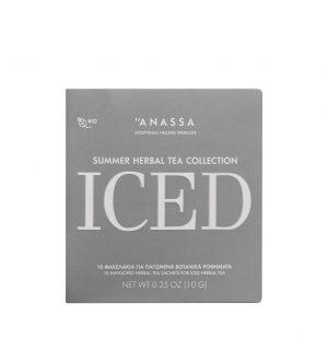 Βιολογικά Βοτανικά Ροφήματα Anassa Iced Summer Herbal Tea Collection 10 Φακελάκια
