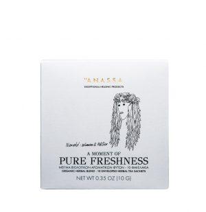 Βιολογικό Αφέψημα Βοτάνων Anassa Pure Freshness 10 Φακελάκια