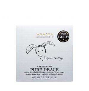 Βιολογικό Αφέψημα Βοτάνων Anassa Pure Peace 10 Φακελάκια