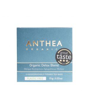 Βιολογικό Αφέψημα Anthea Organic Detox Blend Plastic Free 10 Biodegradable Tea Bags