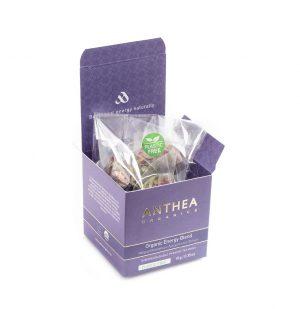 Βιολογικό Αφέψημα Anthea Organic Energy Blend Plastic Free 10 Biodegradable Tea Bags