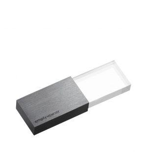 Beyond Object USB 3.0 Memory Transparency Gun Metal 16GB SDDD3-16G-G23
