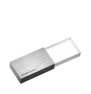 Beyond Object USB 3.0 Memory Transparency Stainless Steel 16GB SDDD3-16G-G12