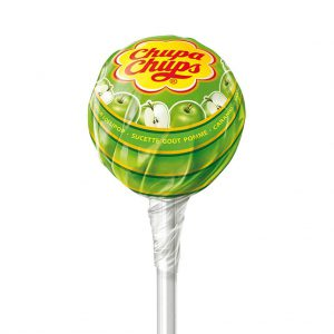 Γλειφιτζούρι Chupa Chups Apple Flavour 12g