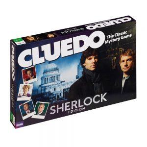 Επιτραπέζιο Cluedo Sherlock Edition Winning Moves (Στα Αγγλικά)