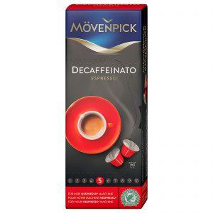 Καφές Espresso Movenpick Decaffeinatto σε Κάψουλες 10τμχ