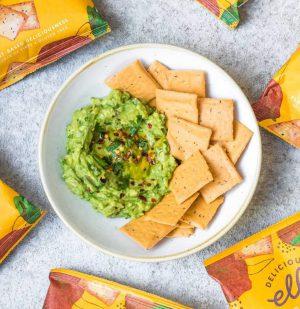 Σνακ Κράκερ Deliciously Ella Baked Veggie Crackers Chickpea And Paprika 100g