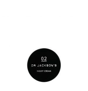 Dr Jackson's 02 Κρέμα Νυκτός Night Skin Cream Travel 30ml