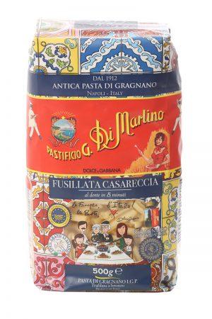 Ζυμαρικά Pastificio G. Di Martino Fusillata Casareccia Dolce And Gabbana Designed Special Edition 500g