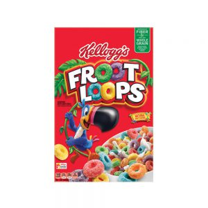 Kelloggs Froot Loops Cereal 286g