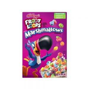 Kelloggs Froot Loops Marshmallow Cereal 297g
