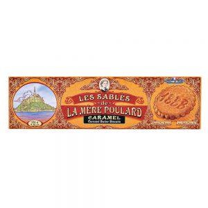 Μπισκότα Βουτύρου με Καραμέλα La Mere Poulard Les Sables Caramel 125g