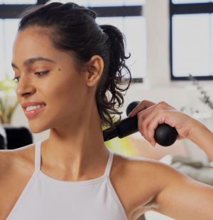 Συσκευή Μασάζ Lola Pocket Massage Gun Black