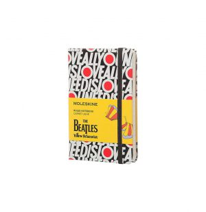 Moleskine The Beatles Limited Edition Pocket Ruled Notebook Black All You Need Is Love