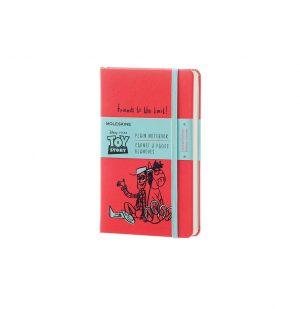 Moleskine Toy Story Limited Edition Pocket Plain Notebook Geranium Red