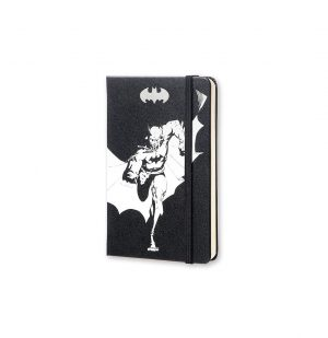 Moleskine Limited Edition Batman Pocket Plain Notebook Black