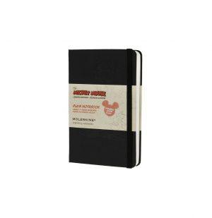 Moleskine Mickey Mouse Limited Edition Pocket Plain Notebook Black