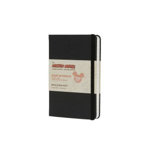 Moleskine Mickey Mouse Limited Edition Pocket Ruled Notebook Black