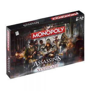 Επιτραπέζιο Monopoly Assassins Creed Syndicate Winning Moves (Στα Αγγλικά)