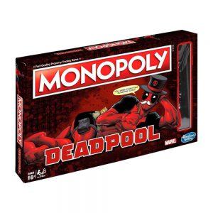 Επιτραπέζιο Monopoly Deadpool Hasbro (Στα Αγγλικά) E2033