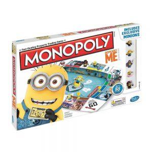 Επιτραπέζιο Monopoly Minions Despicable Me 2 Hasbro (Στα Αγγλικά)