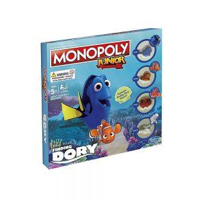 Επιτραπέζιο Monopoly Junior Finding Dory Disney Pixar Hasbro (Στα Αγγλικά) B8618