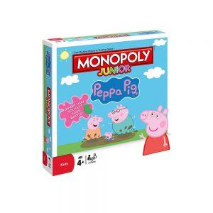 Επιτραπέζιο Monopoly Junior Peppa Pig Winning Moves (Στα Αγγλικά)