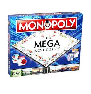 Επιτραπέζιο Monopoly Mega Winning Moves (Στα Αγγλικά) 02459