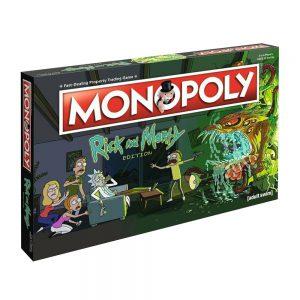 Επιτραπέζιο Monopoly Rick and Morty Winning Moves (Στα Αγγλικά)