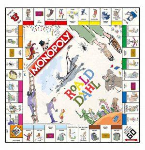Επιτραπέζιο Monopoly Roald Dahl Hasbro (Στα Αγγλικά)