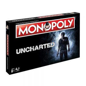 Επιτραπέζιο Monopoly Uncharted Winning Moves (Στα Αγγλικά)