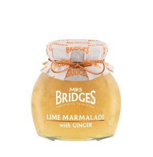 Μαρμελάδα Λάιμ με Τζίντζερ Mrs Bridges Lime Marmalade With Ginger 340g