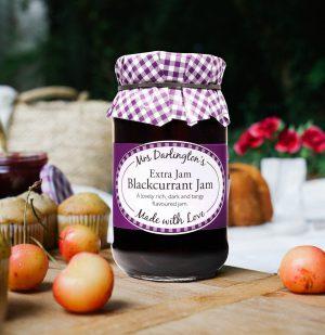Μαρμελάδα Φραγκοστάφυλο Mrs Darlington's Extra Jam Blackcurrant Jam 340g