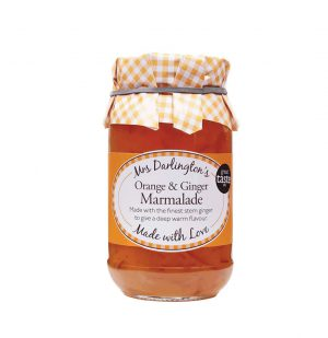 Μαρμελάδα Πορτοκάλι Πιπερόριζα Mrs Darlington's Orange and Ginger Marmalade 340g
