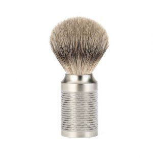 Muhle Πινέλο Ξυρίσματος Από Τρίχα Ασβού Rocca Silvertip Badger Brush