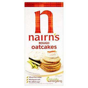 Κράκερ Βρώμης Nairns Vegan Rough Oatcakes 291g
