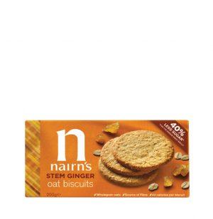 Μπισκότα Βρώμης Nairns Stem Ginger Oat Biscuits 200g
