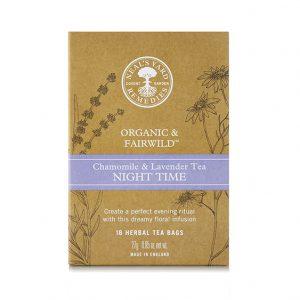Αφέψημα Βοτάνων Βιολογικό Night Time Neals Yard Remedies 18 Φακελάκια