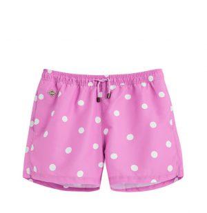 Μαγιό Ρόζ Pink Dot Nikben Swim Shorts Pink
