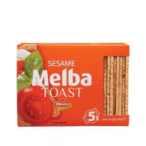 Φρυγανιές Σταρένιες με Σουσάμι Melba Toast Sesame 100g