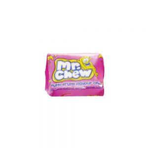 Καραμελότσιχλα Ροζ Swizzels Matlow Original Mr Chews Tutti Fruiti Pink 10g