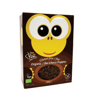 Παιδικά Δημητριακά Βιολογικά Χωρίς Γλουτένη Vegan Choco Pops Little Rosies 200g