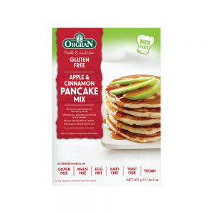 Μείγμα για Pancakes Vegan Orgran Apple and Cinnamon Pancake Mix 375g